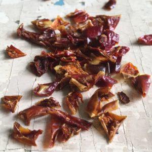 Paprika rossa in fiocchi