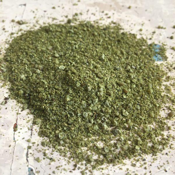 Pepe verde vanigliato