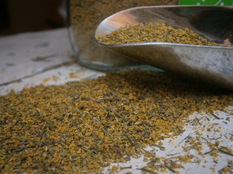 finocchiella sfusa gialla e verde senza semi