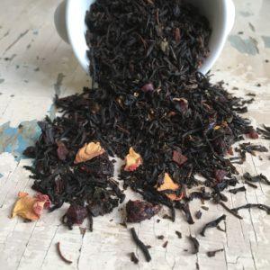 Tè nero frutti e fiori