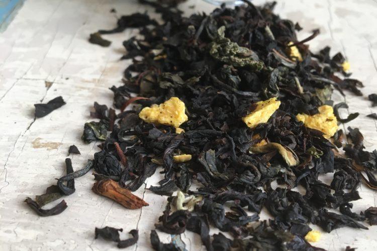 Tè Oolong arancio