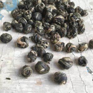 Tè verde perle di gelsomino