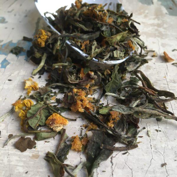 Tè biancoarancio