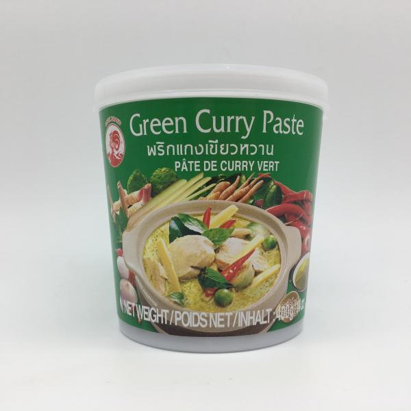 Curry verde in pasta