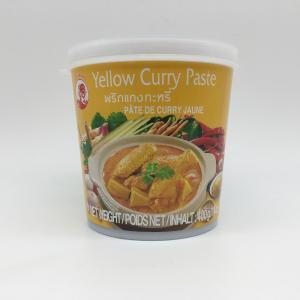 Curry giallo in pasta