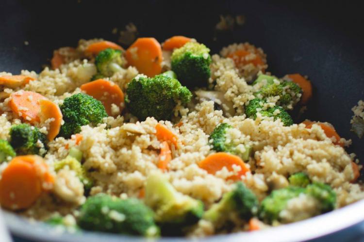 cous cous con verdure e spezie