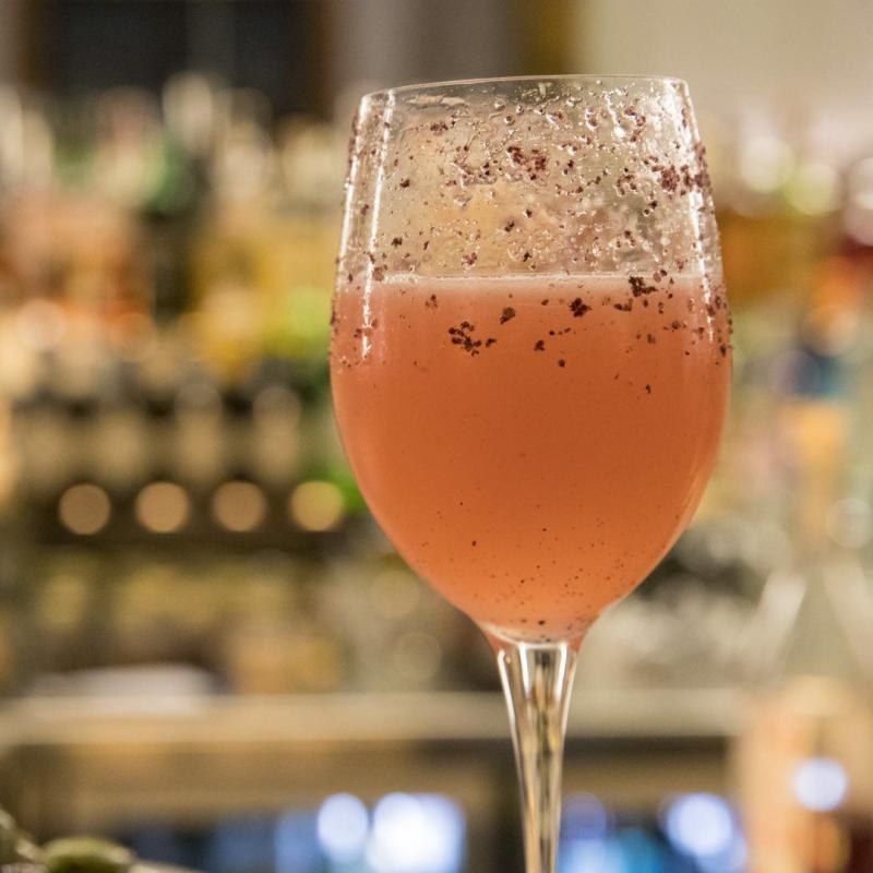 Diavolo della Tasmania cocktail
