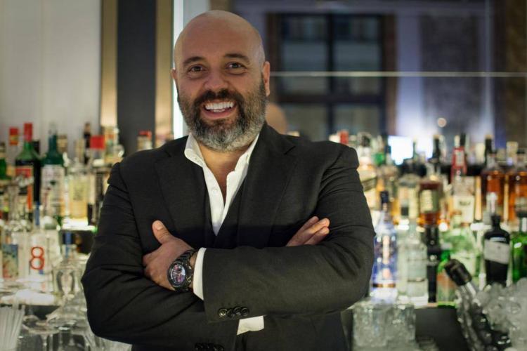 Massimo D'Addezio bartender